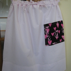 Pillowcase Draw String Skirt
