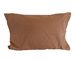 Chocolate Brown Pillowcases (Six Pack) - Standard Size 180 Thread Count