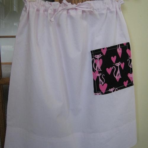 Pillowcase Draw String Skirt