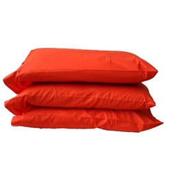 Red Pillowcases (Six Pack)